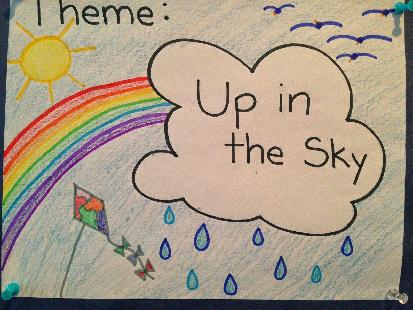 Up In The Sky Theme For Pre K And Preschool