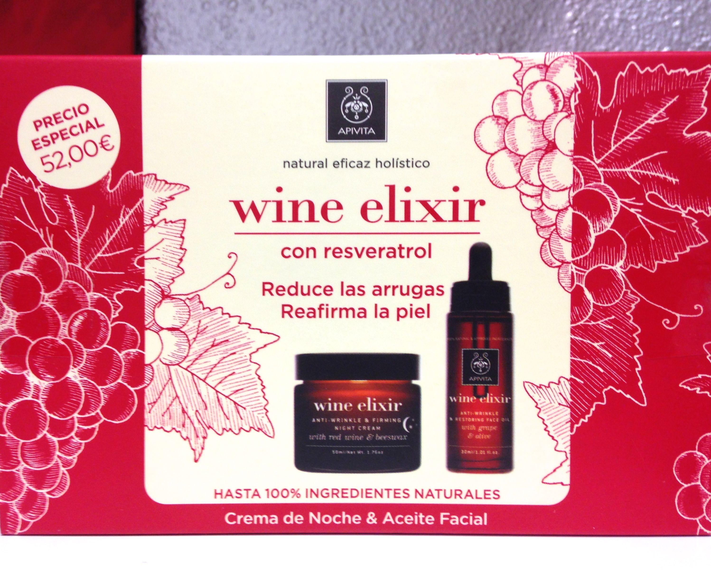 Pack Promocional De Apivita Wine Elixir Cosmeticanatural Farmacia Con Imagenes Cosmeticos Naturales Cremas Faciales Farmacia