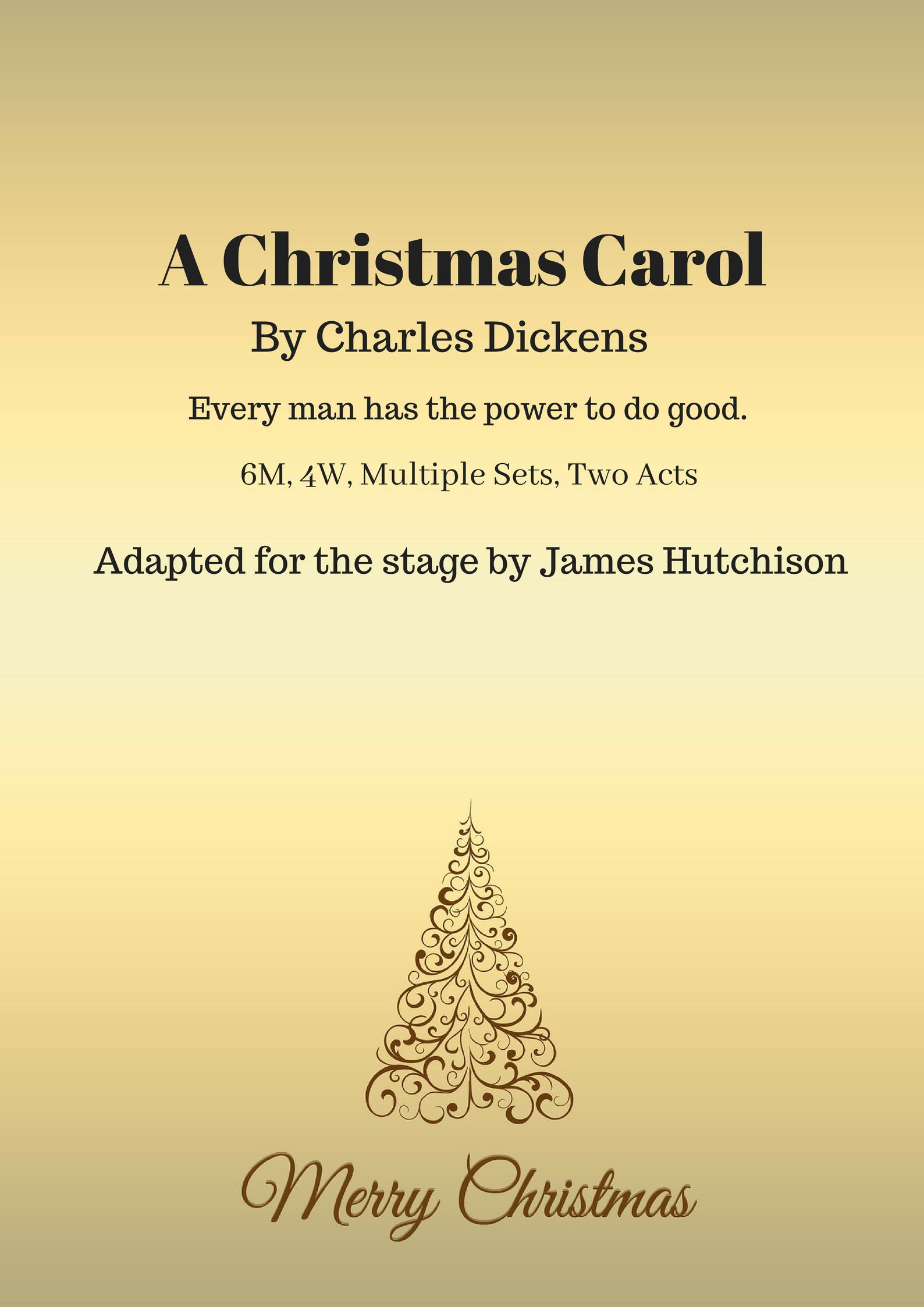 a christmas carol small cast download script for free james