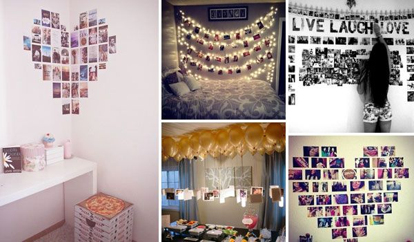 Top 24 Simple Ways To Decorate Your Room With Photos Stylish