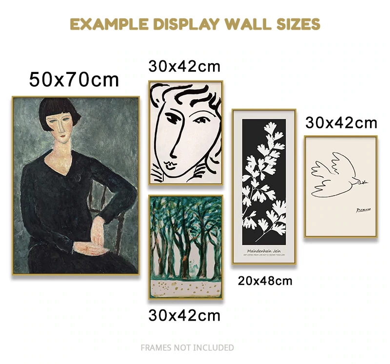 Classic Amedeo Modigliani Picasso Abstract Nordic Wall Art Canvas Prints Nordicwallart Com Art Gallery Wall Inspirational Quotes Wall Art Modern Art Prints