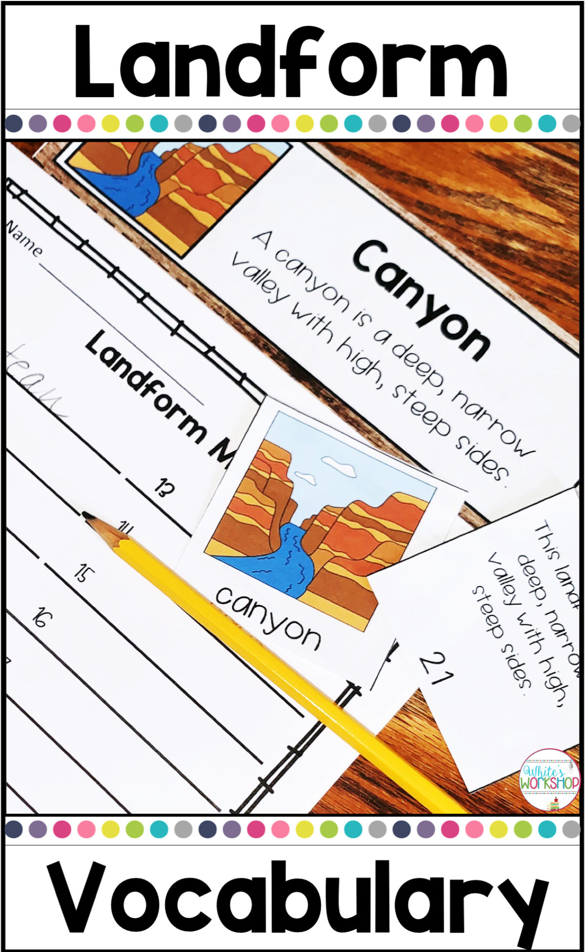 These Landform Picture Sort Activities Are Perfect For