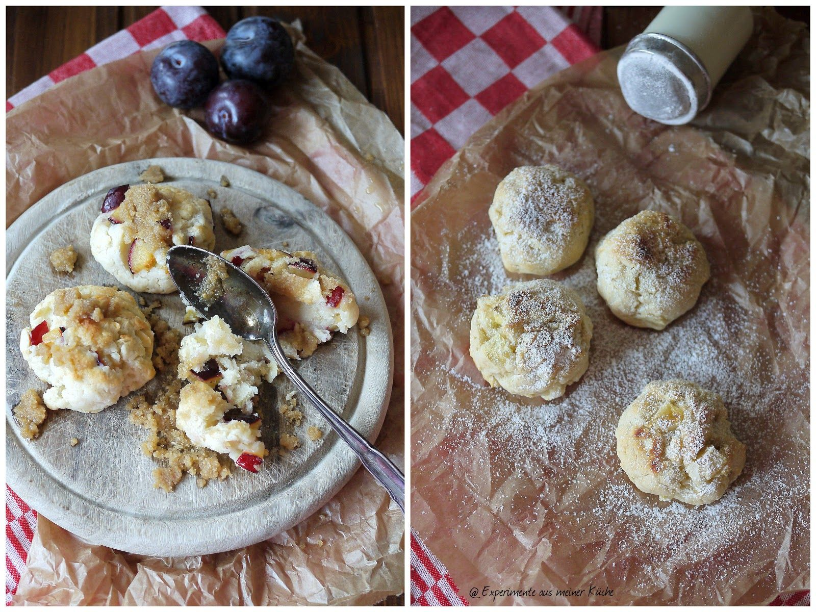 Experimente aus meiner Küche Topfenknödel für Faule oder Apfel Quark Knödel