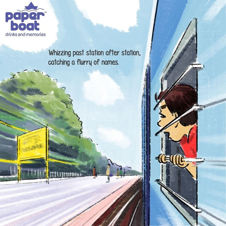These Illustrations About Train Rides Will Take You On An
