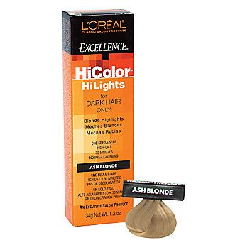 Hicolor Blonde Hilights Permanent Creme Hair Color Hair Color