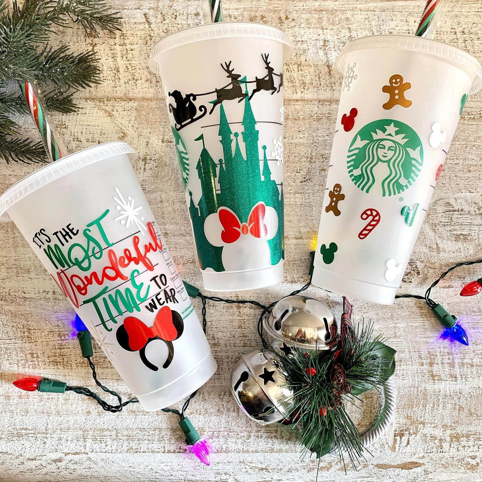 Disney 2019 Christmas Collection Personalized Starbucks