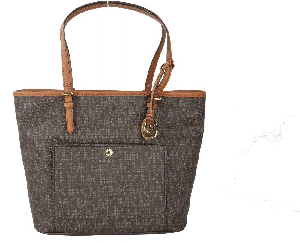 حقيبة يد نسائية كبيرة من مايكل كورس من أرقى الجلود الصناعية Louis Vuitton Bag Neverfull Louis Vuitton Neverfull Vuitton Neverfull