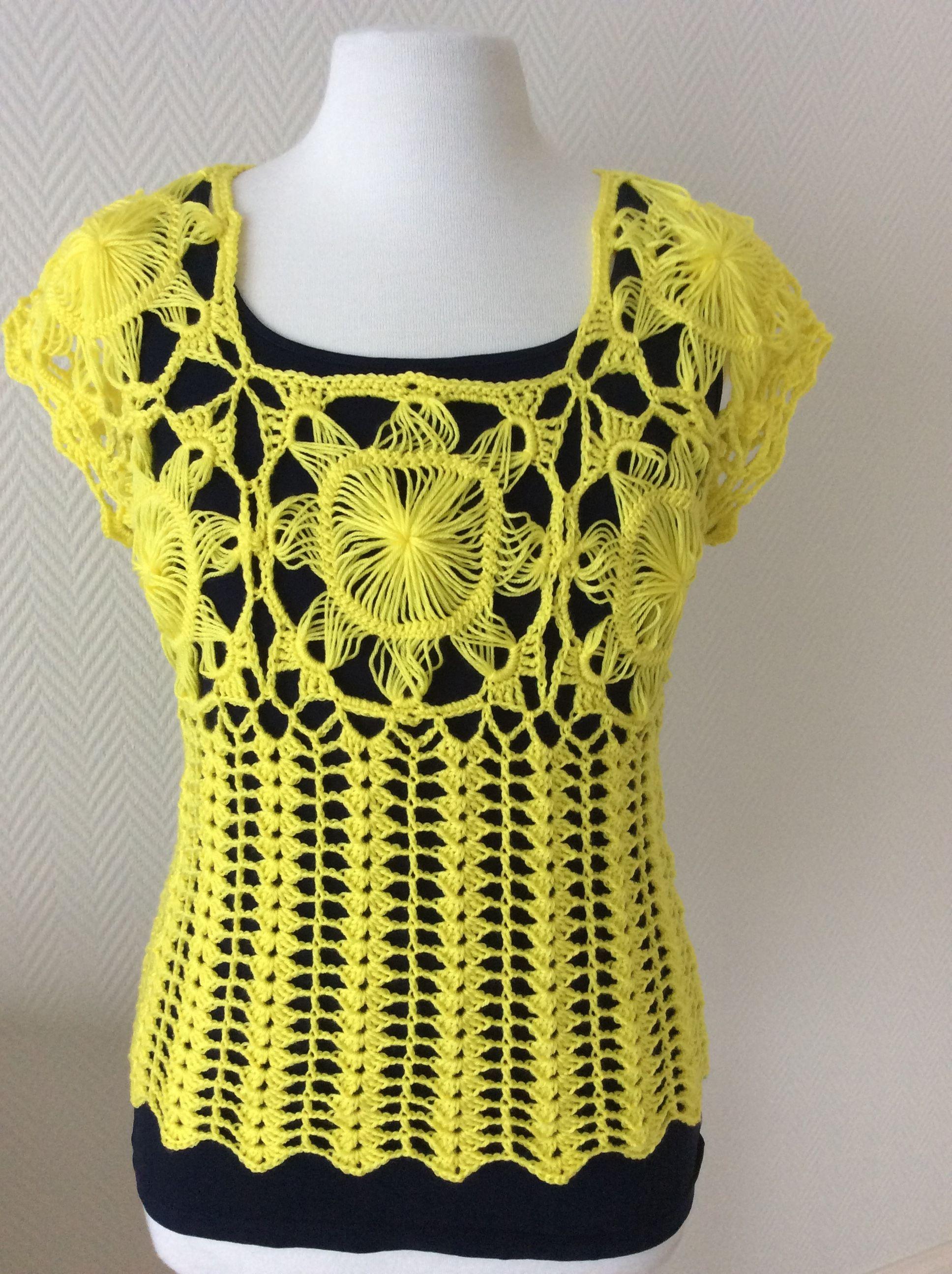Hairpin lace top pats crochet pinterest crochet hairpin hairpin lace top bankloansurffo Image collections