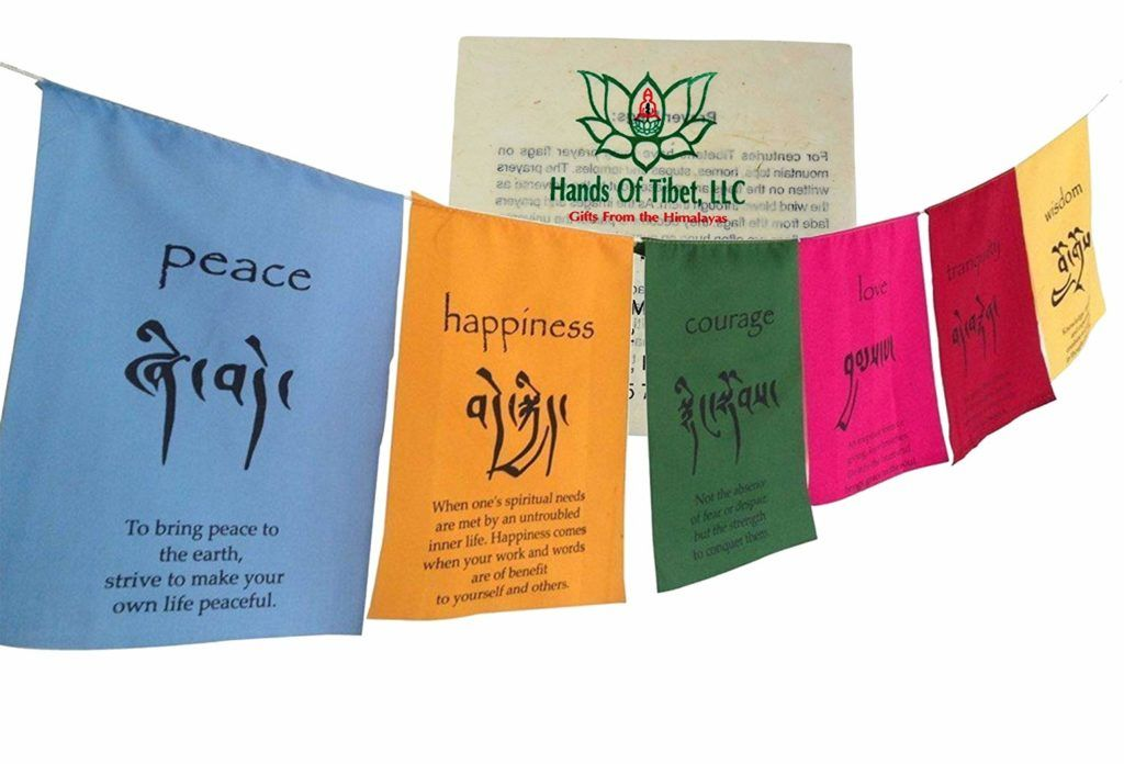 5 Traditional Buddhist Prayer Flags Be A Buddhist Buddhist Prayer Prayer Flags Tibetan Prayer Flag