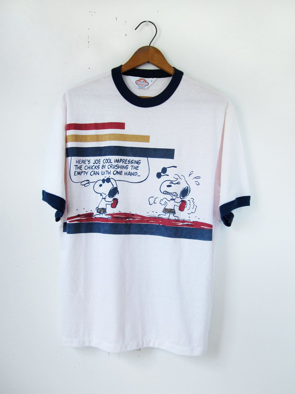 Vintage 1958 Peanuts T-shirt size Medium.