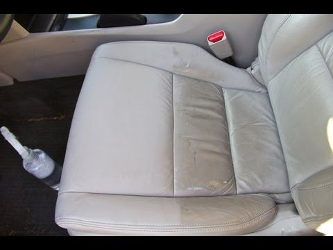 Dcg1 How To Repair A Leather Car Seat Rip Hole On An E36 Bmw M3