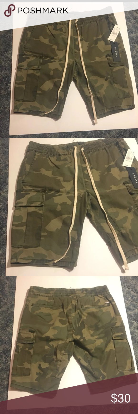 c1a2cf36c7 NWT Men's PacSun Camo Cargo Shorts New with tags PacSun Shorts Cargo ...