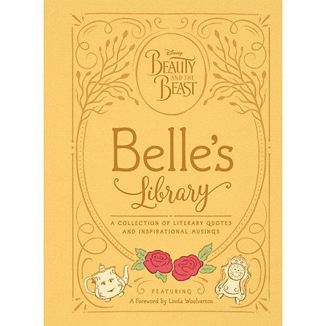Beauty And The Beast Belle S Library Book Belle Library Disney