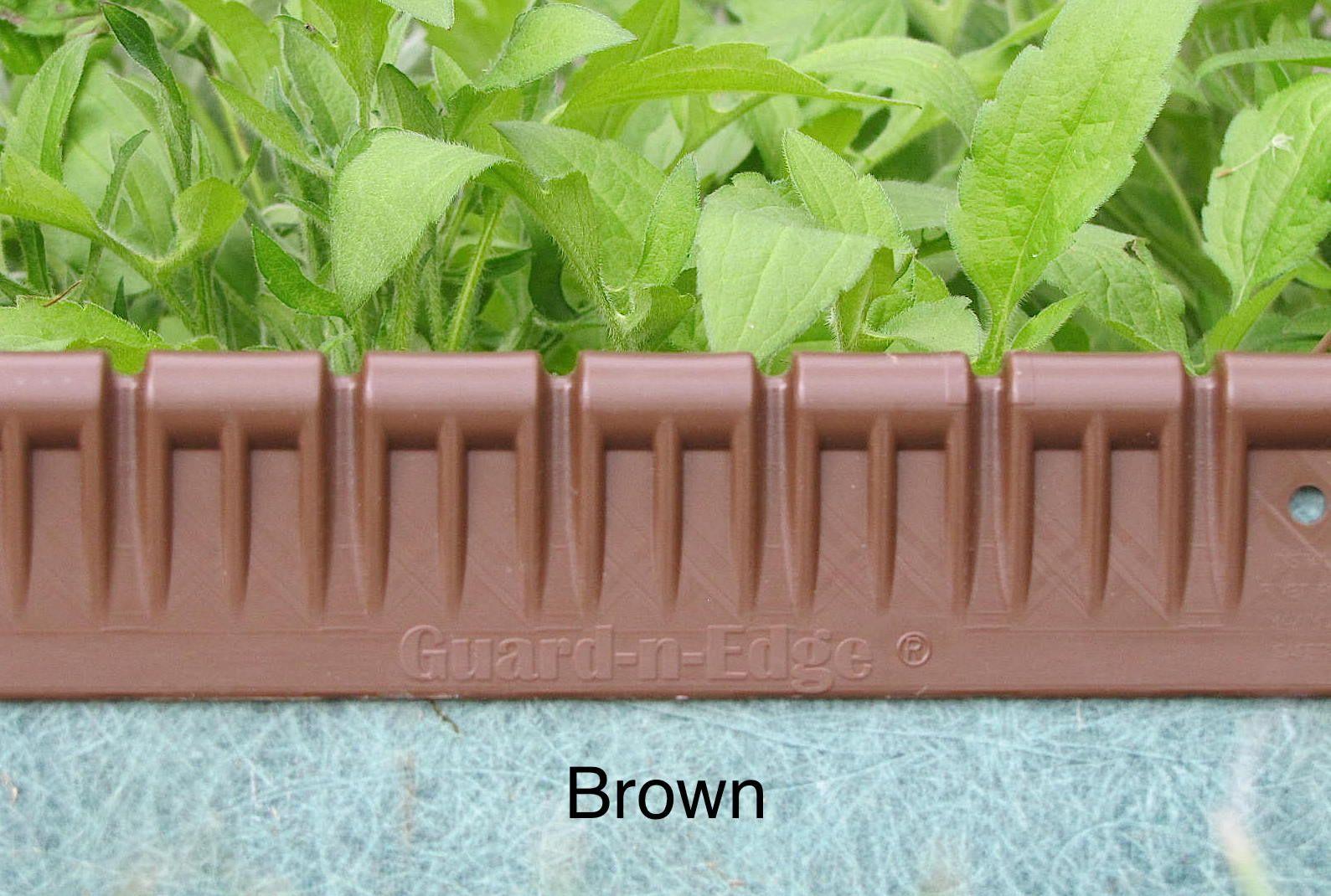 Guard-n-Edge 30 Foot Bundle: Brown