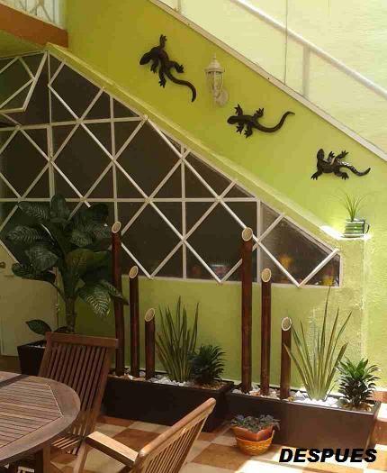Jardineras fibra de vidrio con bamb es deshidratados y for Jardineras para interiores