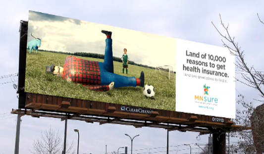 MNsure Launches TV, Radio Ads Statewide // MNsure's ads