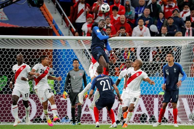Mbappé clasifica a Francia y elimina a Perú (1-0)