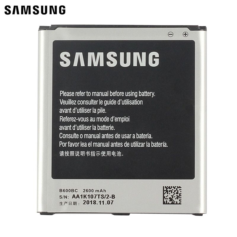 Samsung Original Replacement Battery B600bc B600be For Samsung Galaxy S4 Gt I9505 I9508 I959 I9500 I9502 Authentic 2600mah Galaxy Note 3 Samsung Galaxy S3