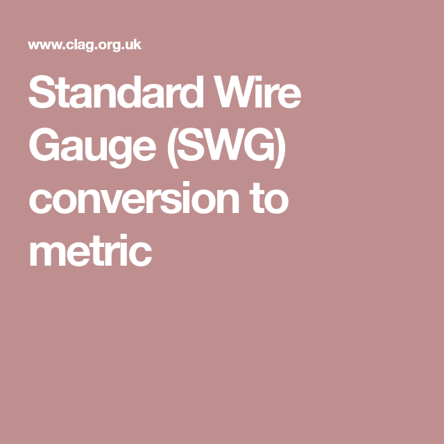 Standard wire gauge conversion to metric image collections wiring standard wire gauge swg conversion to metric jewellery standard wire gauge swg conversion to metric keyboard keyboard keysfo Gallery