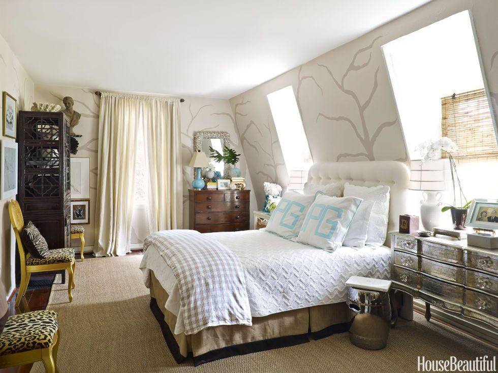 This 250 year old cottage is bursting with eclectic style - Beautiful bedroom ideas for small rooms ...