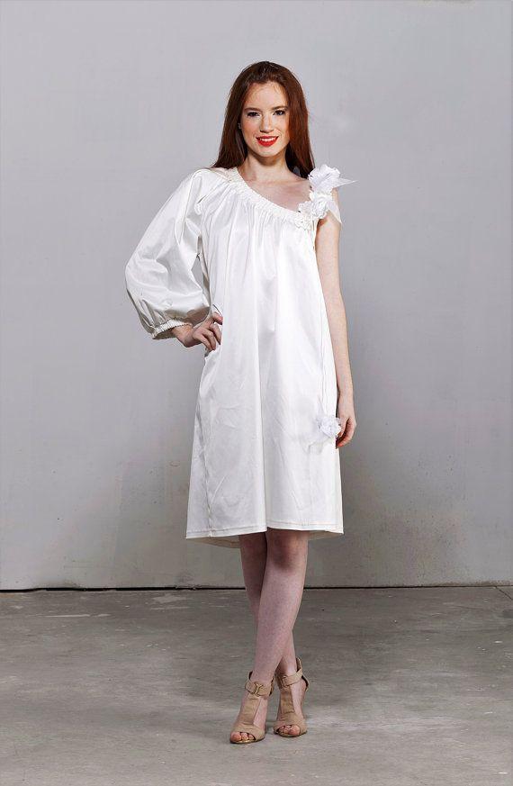 Asymmetric Twiggy Wedding Dress For All Sizes By BridalStars
