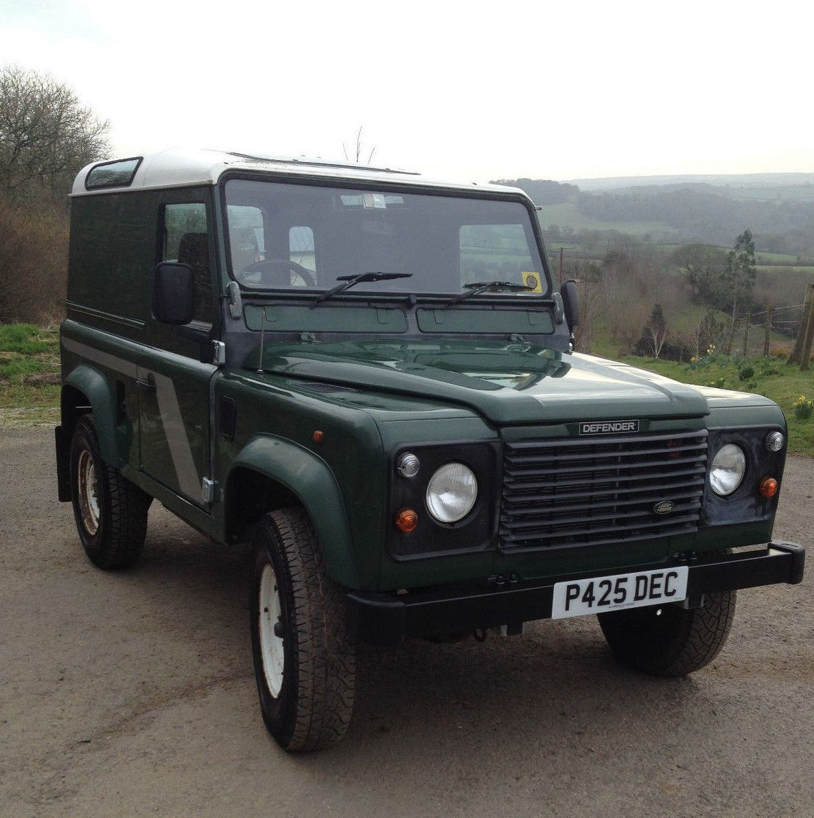 eBay: Land Rover Defender 90 300 TDI NEW GALVANISED CHIS AND ...