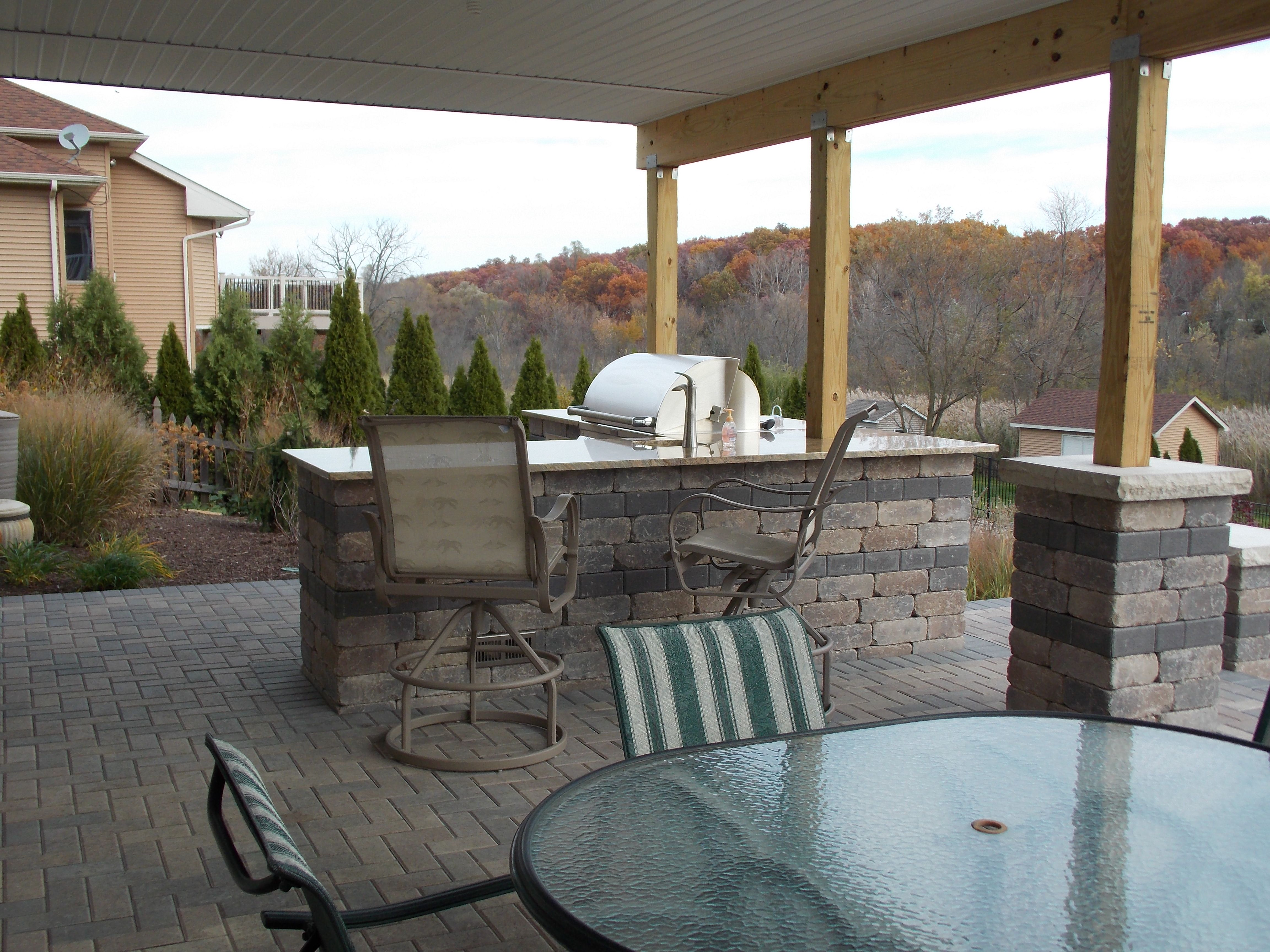 Outdoor Kitchen | Small patio spaces, Outdoor furniture ... on Outdoor Living Spaces Nw id=14362