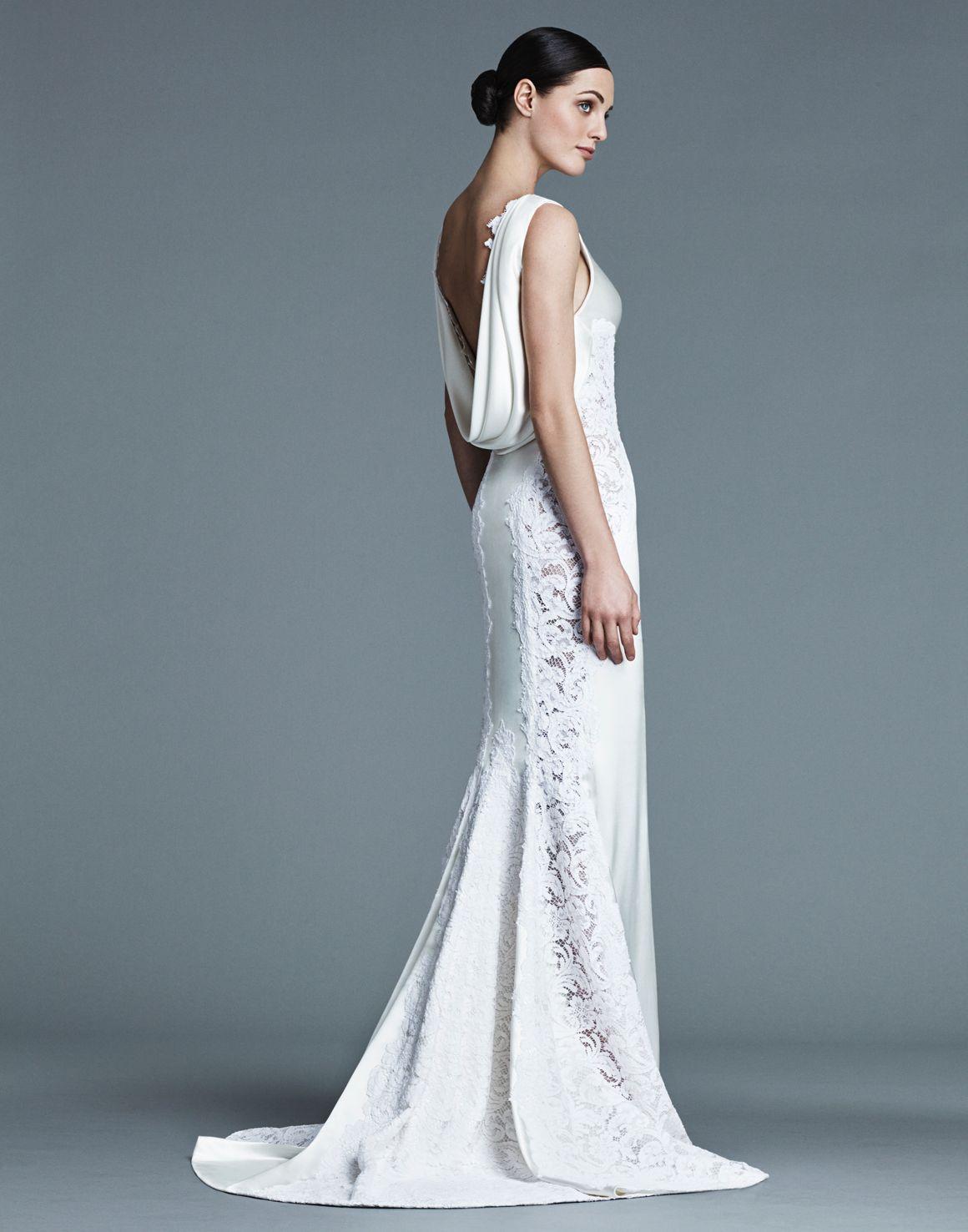 J Mendel J Mendel Bridal Modern Wedding Dress Pretty Wedding Dresses