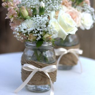 Twine and pretty flowers