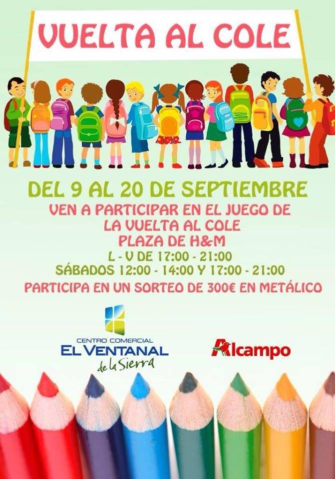 El Ventanal De La Sierra Propone Una Vuelta Al Cole Con Premios En
