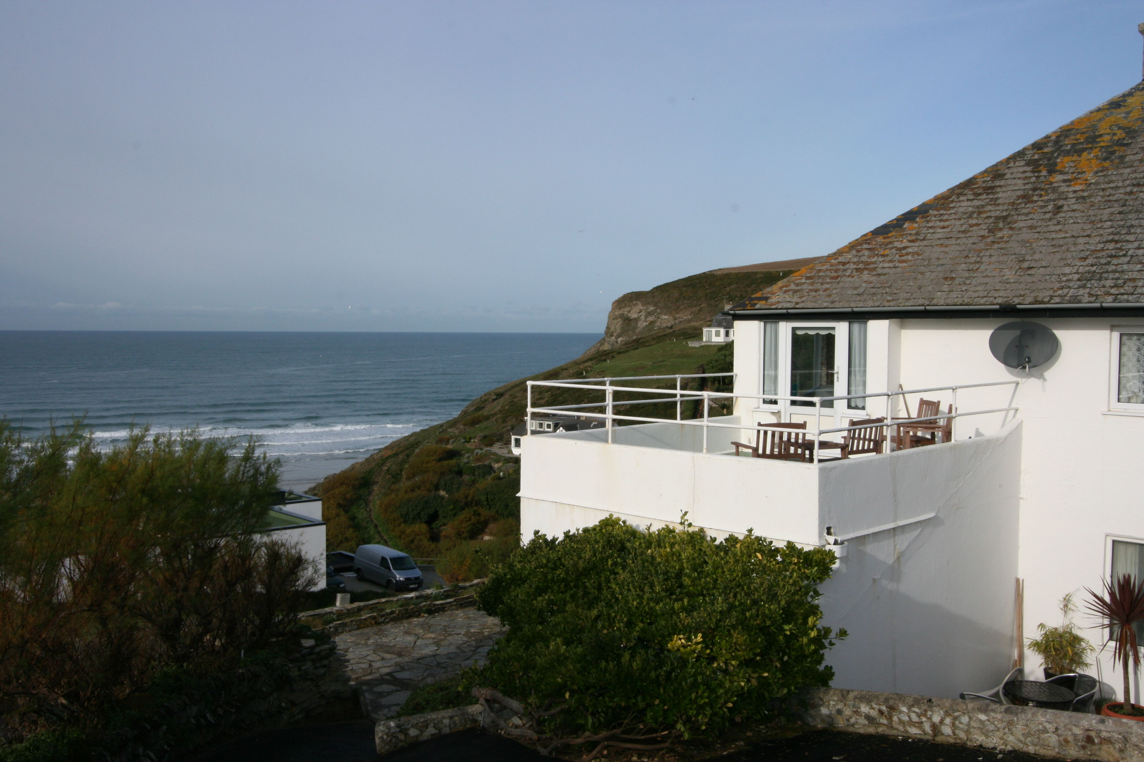 Dolphins Leap Mawgan Porth Cottage House Styles Mansions
