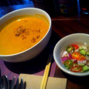 pumpkin and butternut curry - busaba eathai