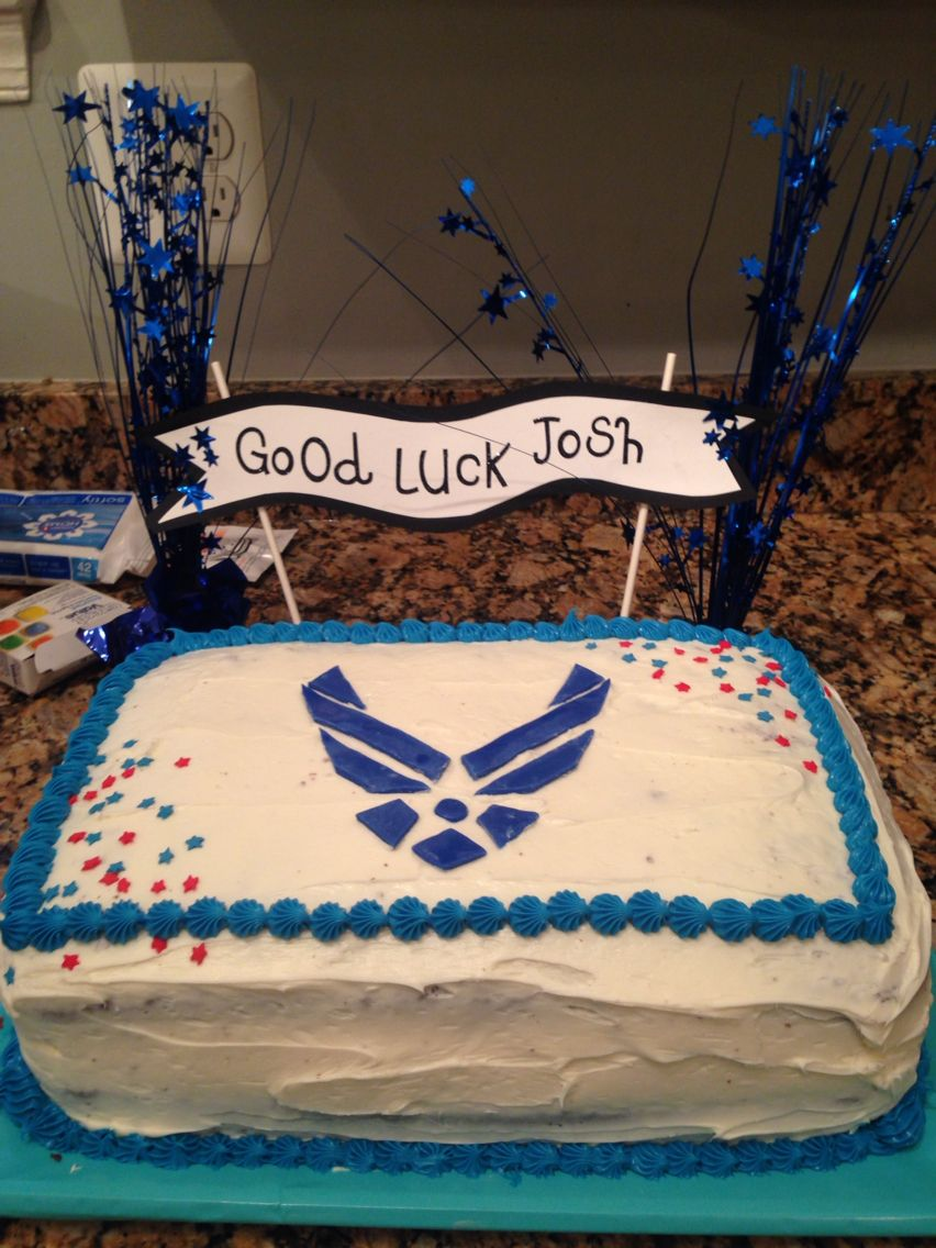 Air force cake decorations home furniture decors creating the - Made A Double Layer Chocolate Cake For An Air Force Going Away