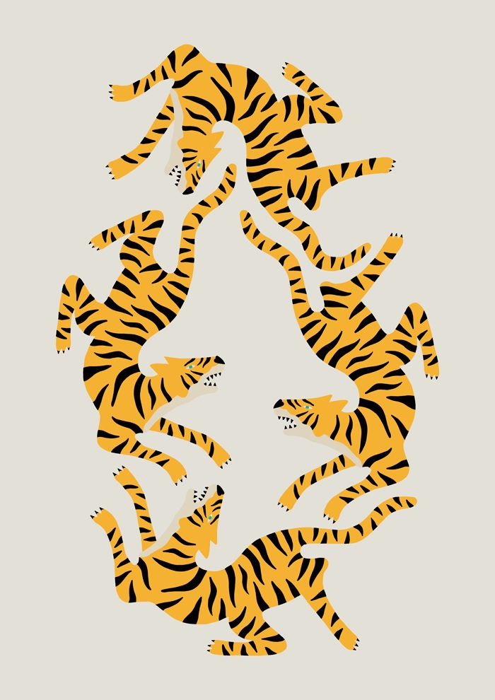 TIGERS OBSESSION on Behance