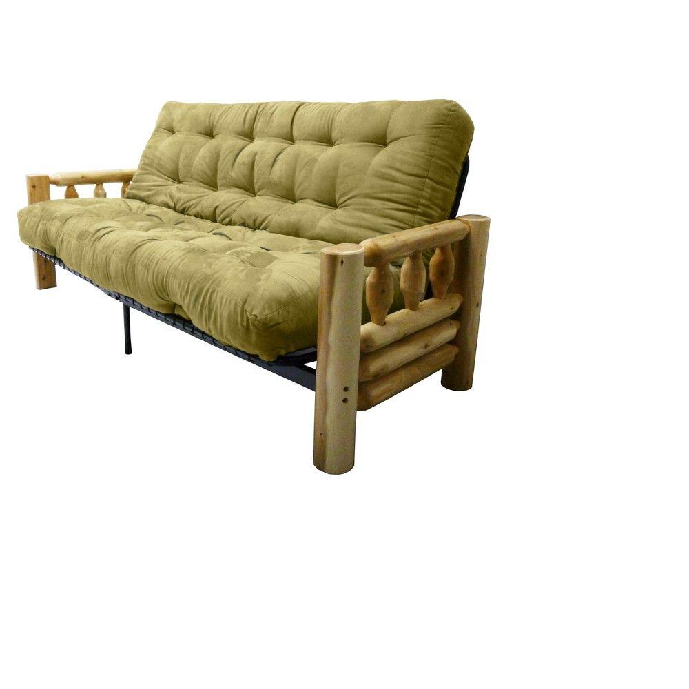 Lodge 8 Cotton Foam Futon Sofa Sleeper