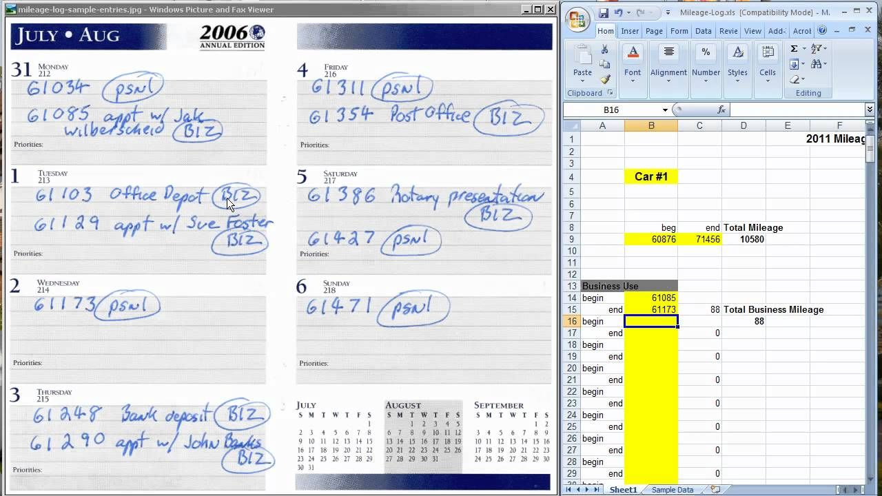 the easiest way to keep a mileage log for tax deductions handy