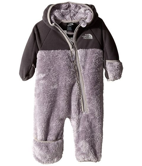 b21539426055 The North Face Kids Chimborazo One Piece (Infant) Metallic Silver ...