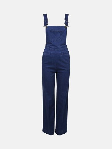 Tulum dungaree pants | 7172062 | Blå | BikBok | Sverige