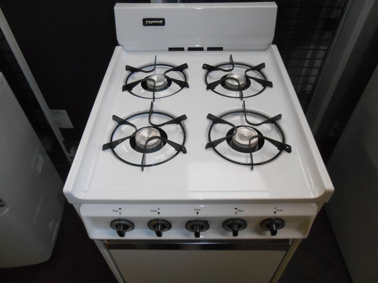 Appliance City - TAPPAN 20 INCH GAS RANGE 4 BURNER BROILER ON ...