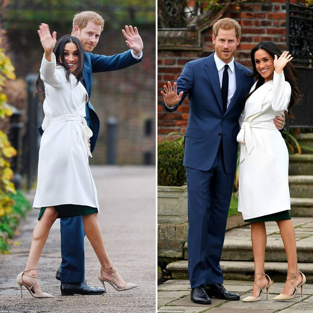 Prince Harry And Actress Meghan Markle During An Official