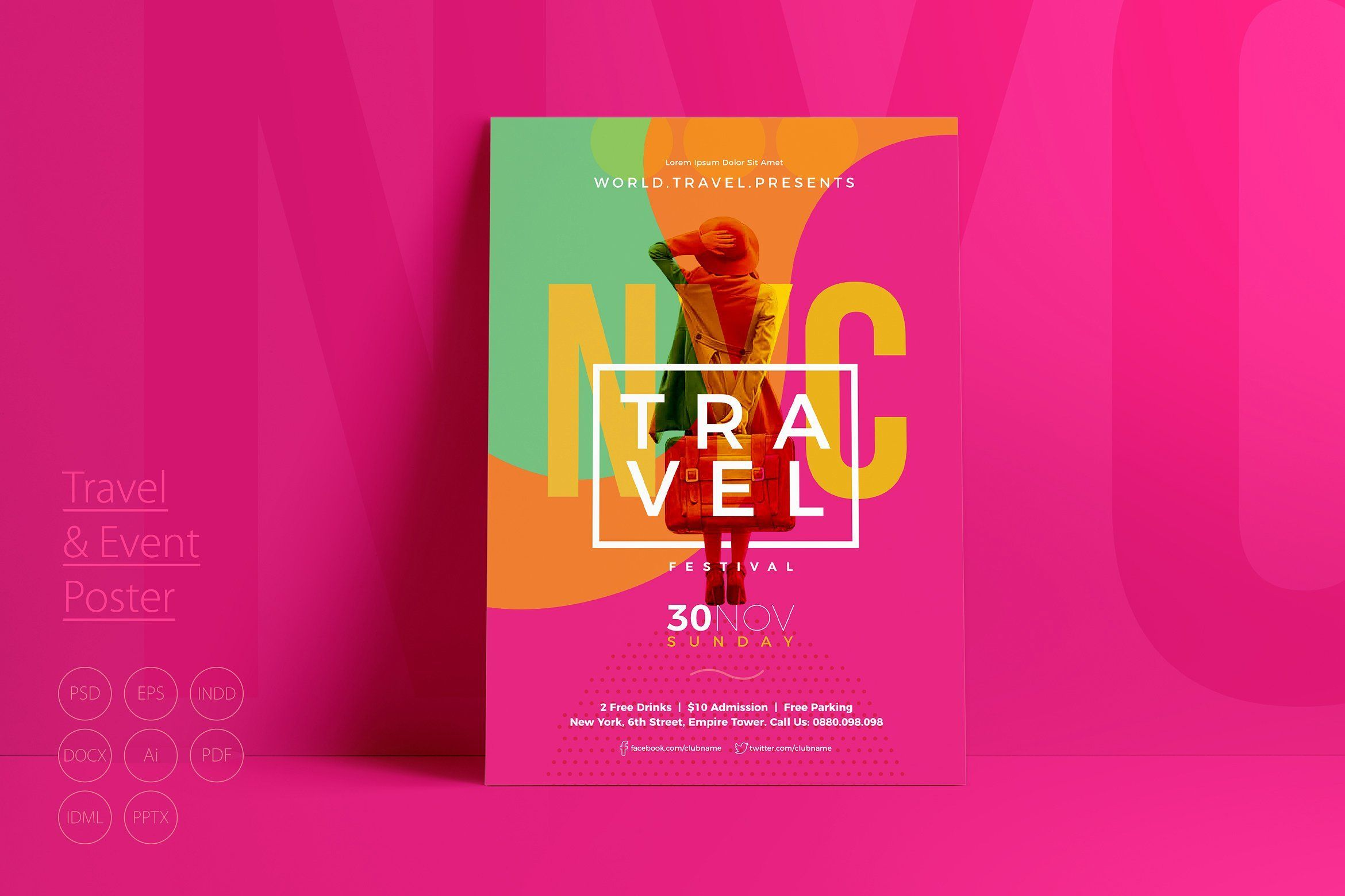 Travel Event Poster Event Poster Event Flyer Templates Event Flyer