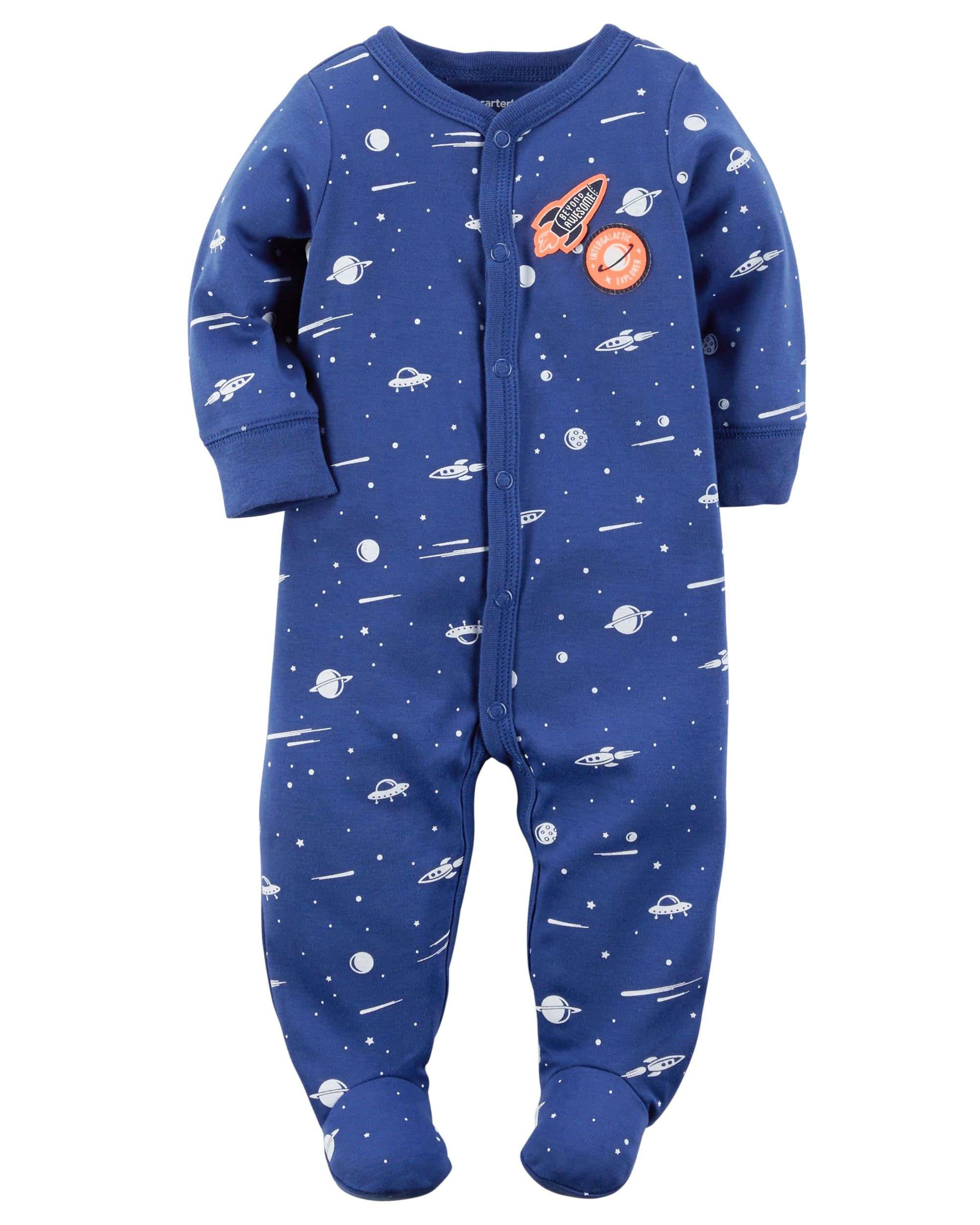 401c45655 Cotton Snap-Up Sleep   Play
