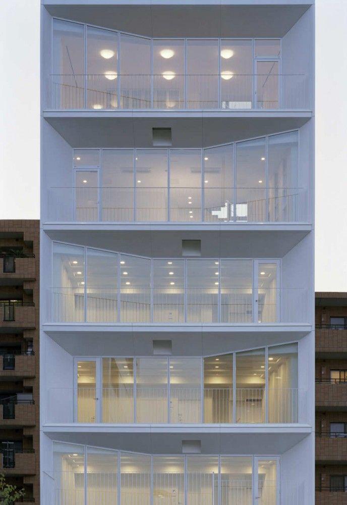 yHa architects+ L design - Ebi, Tokyo, Japan (2006-2007) #residential #housing