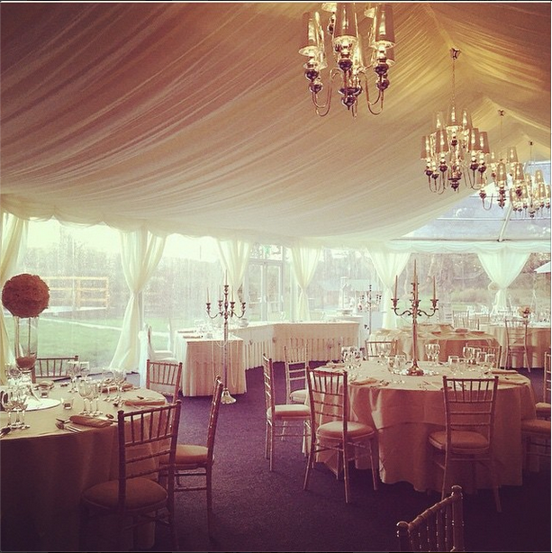 Ideas For Wedding Reception Venues Cardiff: Inside The Marquee At Oldwalls Gower