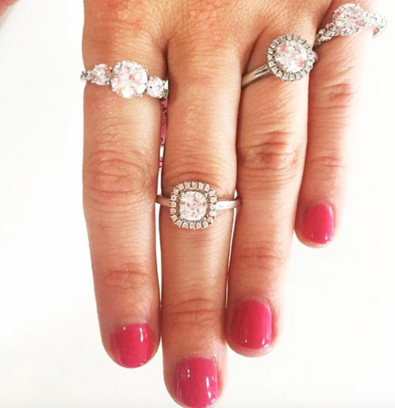 Regram Districtblissdc Thank You For Sharing Some Of Our Diamonds On Your Instagram Feed Engagement Rings Diamond Wedding Bands