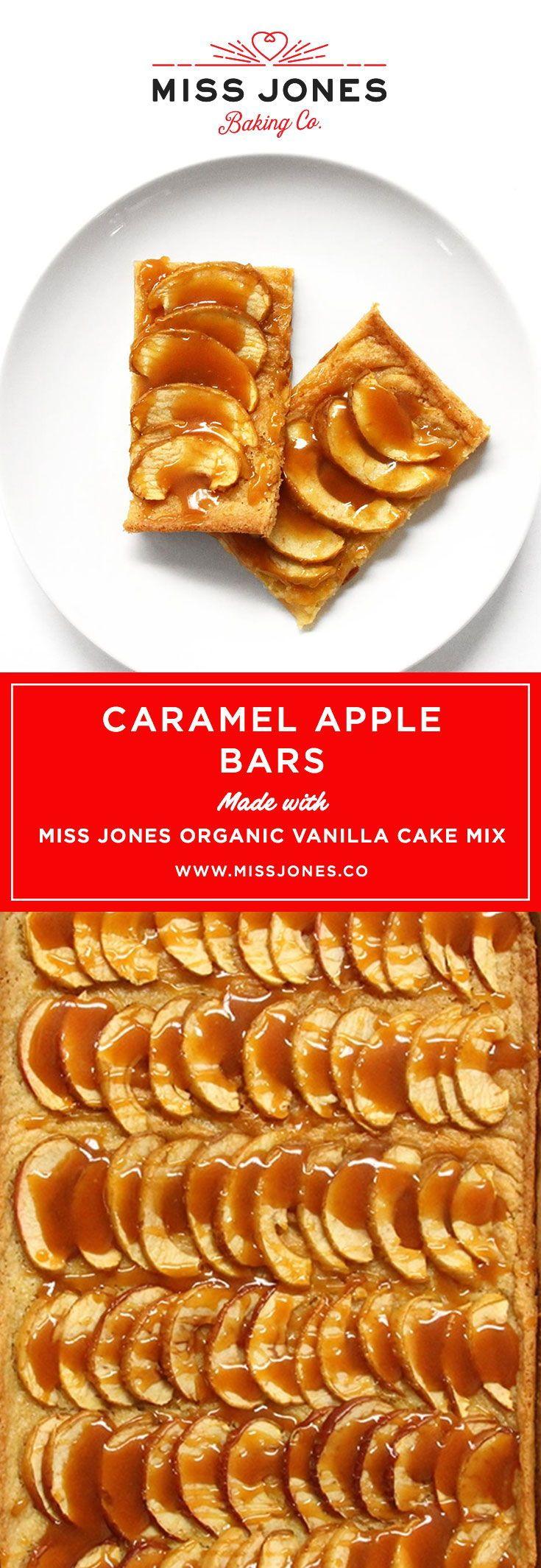 Caramel apple bars recipe miss jones baking co apple