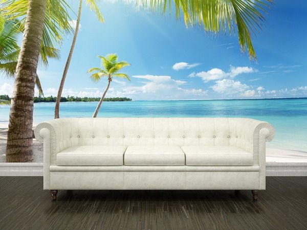 Realistic Looking Tropical Bedroom | The Concept Of Tropical Wall Mural |  NEWBUILDHOUSES.NET Part 70