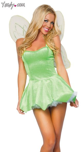 Sexy Tinkerbell Costume Sexy Tinker Bell Halloween Costume Adult