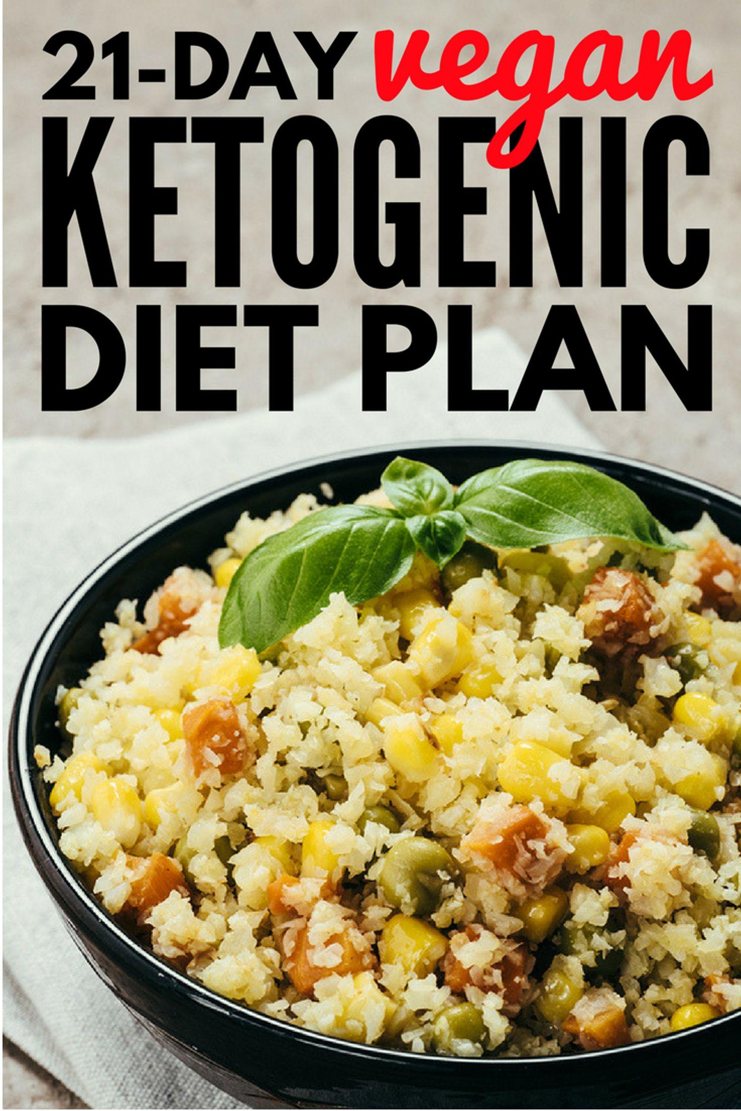 Vegan Ketogenic Diet 21Day Vegan Keto Diet Plan Vegan