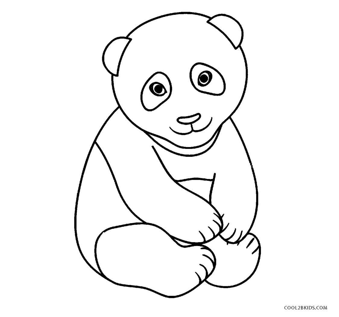 Cute Panda Coloring Pages Panda Coloring Pages Animal Coloring Pages Cartoon Coloring Pages
